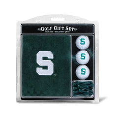 Michigan State Spartans Golf Gift Set with Embroidered Towel