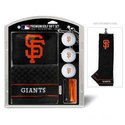 San Francisco Giants Golf Gift Set with Embroidered Towel