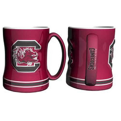 South Carolina Gamecocks Coffee Mug - 14oz Sculpted Relief