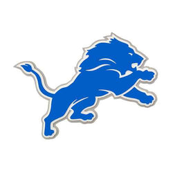 Detroit Lions Sign 3D Foam Logo