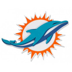 Miami Dolphins Sign 3D Foam Logo