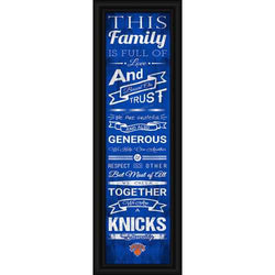 New York Knicks Family Cheer Print 8