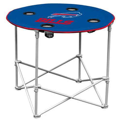 Buffalo Bills Round Tailgate Table