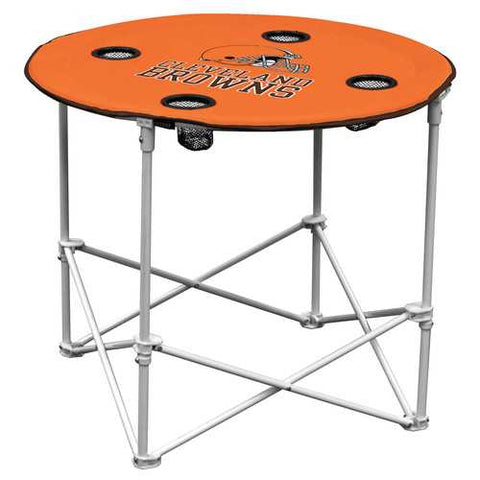 Cleveland Browns Round Tailgate Table