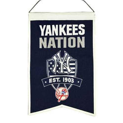New York Yankees Banner Wool Nations