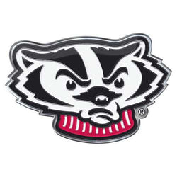 Wisconsin Badgers Auto Emblem Color Alternate Logo