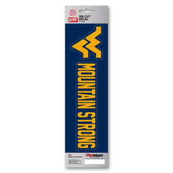 West Virginia Mountaineers Decal Die Cut Slogan Pack