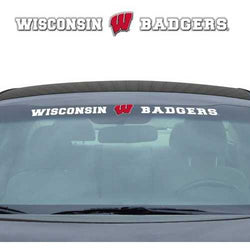 Wisconsin Badgers Decal 35x4 Windshield