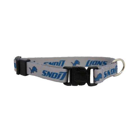Detroit Lions Pet Collar Size XS