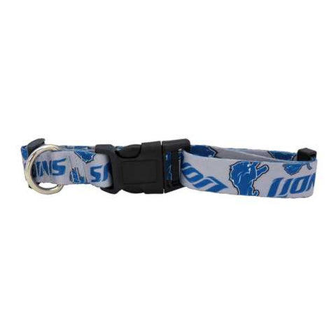 Detroit Lions Pet Collar Size M