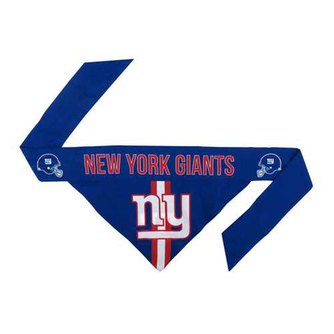 New York Giants Pet Bandanna Size L