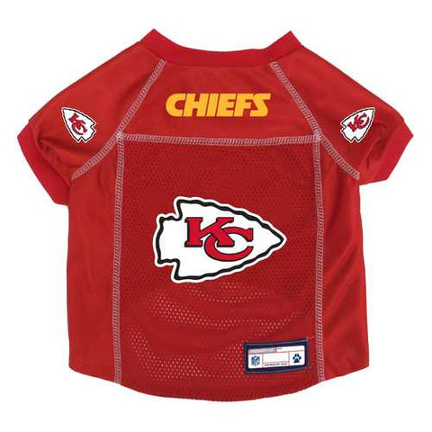 Kansas City Chiefs Pet Jersey Size XS