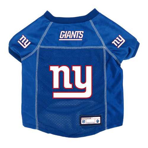 New York Giants Pet Jersey Size S