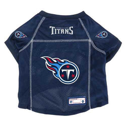 Tennessee Titans Pet Jersey Size XS