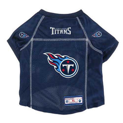 Tennessee Titans Pet Jersey Size XL