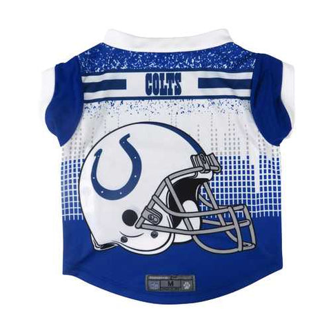 Indianapolis Colts Pet Performance Tee Shirt Size S
