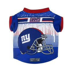 New York Giants Pet Performance Tee Shirt Size L