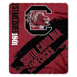 South Carolina Gamecocks Blanket 50x60 Fleece College Painted Design