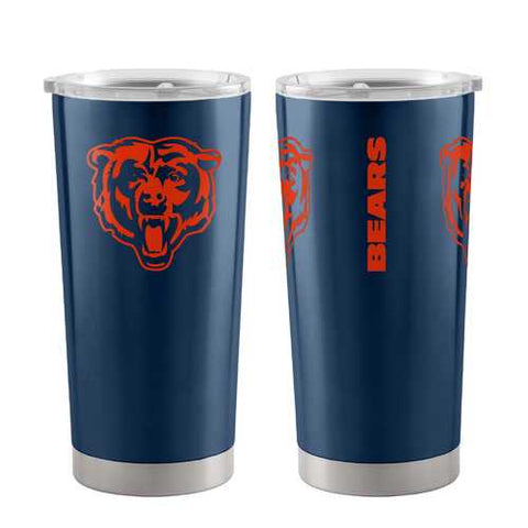 Chicago Bears Travel Tumbler 20oz Ultra Orange