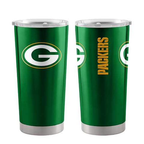 Green Bay Packers Travel Tumbler 20oz Ultra Green