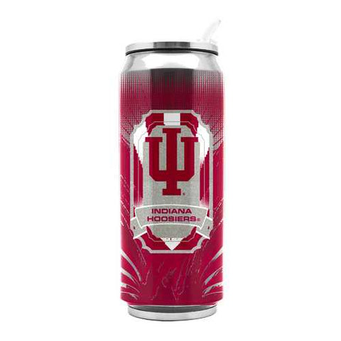 Indiana Hoosiers Stainless Steel Thermo Can - 16.9 ounces