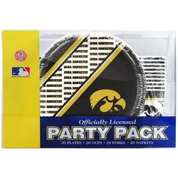Iowa Hawkeyes Party Pack 80 Piece