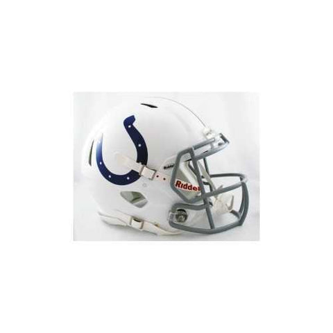 Indianapolis Colts Helmet Riddell Authentic Full Size Speed Style
