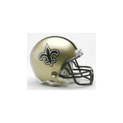 New Orleans Saints Replica Mini Helmet w/ Z2B Face Mask