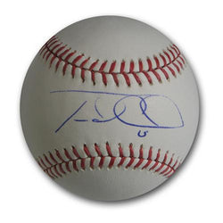 Autographed Travis DArnaud Official Major League Baseball.