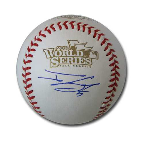 Autographed Jonny Gomes  2013 World Series baseball
