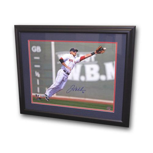 Autographed Will Middlebrooks 16x20 Framed Fielding Photo