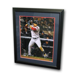 Autographed Will Middlebrooks 16-by-20 Inch Framed Batting Photo