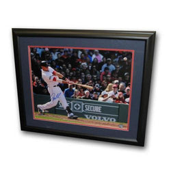 Autographed Will Middlebrooks 16X20 Inch Grand Slam Framed Photo (MLB Authenticated)
