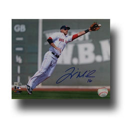 Autographed Will Middlebrooks 8-by-10 Inch Unframed Fielding Photo