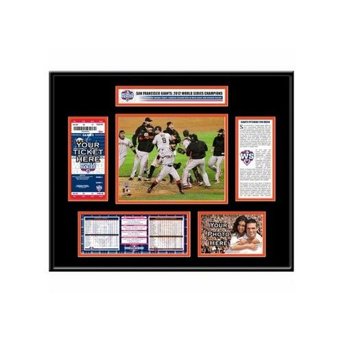 Autographed Dustin Pedroia 12-by-48 Unframed Big Sig With Photo