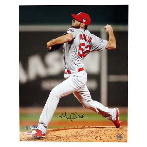 Autographed Michael Wacha 16-by-20 Inch Unframed Photo