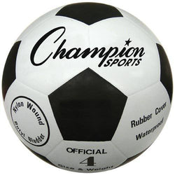 Budget Rubber Soccer Ball - Size 4