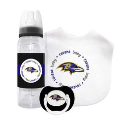 Baltimore Ravens NFL 3 Piece Infant Gift Set