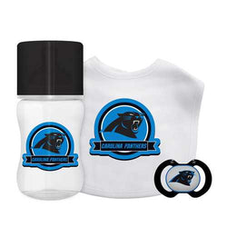 Carolina Panthers NFL 3 Piece Infant Gift Set