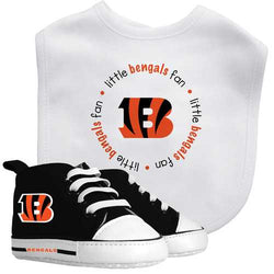 Cincinnati Bengals NFL Infant Bib and Shoe Gift Set