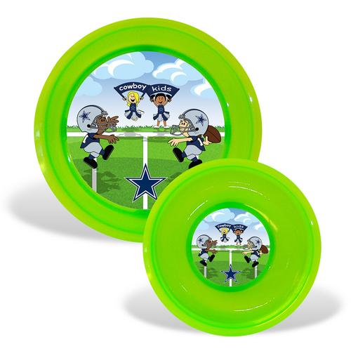 Dallas Cowboys NFL Toddler Plate and Bowl Set