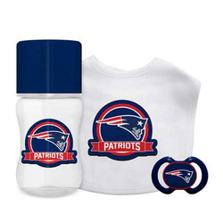 New England Patriots NFL 3 Piece Infant Gift Set