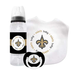 New Orleans Saints NFL 3 Piece Infant Gift Set