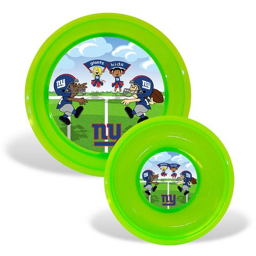 New York Giants NFL Toddler Plate and Bowl Set