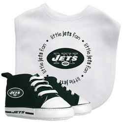 New York Jets NFL Infant Bib and Shoe Gift Set