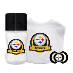 Pittsburgh Steelers NFL 3 Piece Infant Gift Set