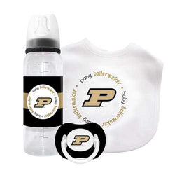 Purdue Boilermakers NCAA 3 Piece Infant Gift Set