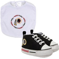 Washington Redskins NFL Infant Bib and Shoe Gift Set