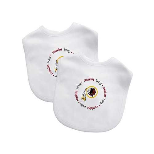 Washington Redskins NFL Infant Bibs (2 Pack)