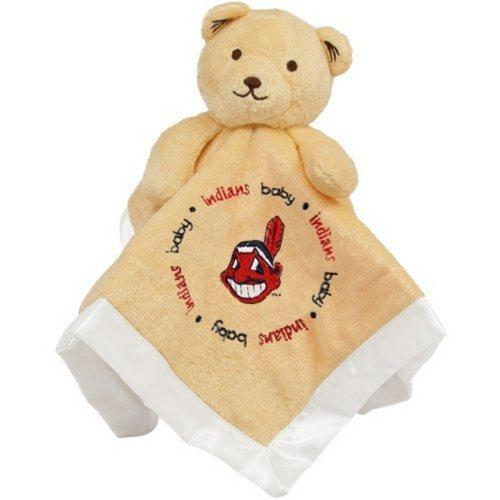 Baby Fanatic Snuggle Bear Ball Blanket Cleveland indians